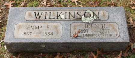 WILKINSON (VETERAN WWI), JOHN H - Garland County, Arkansas | JOHN H WILKINSON (VETERAN WWI) - Arkansas Gravestone Photos