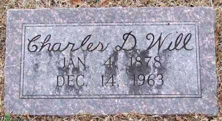 WILL, CHARLES D. - Garland County, Arkansas | CHARLES D. WILL - Arkansas Gravestone Photos