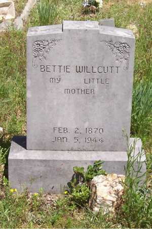 WILLCUTT, BETTIE - Garland County, Arkansas | BETTIE WILLCUTT - Arkansas Gravestone Photos