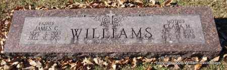 WILLIAMS, CLARA M. - Garland County, Arkansas | CLARA M. WILLIAMS - Arkansas Gravestone Photos