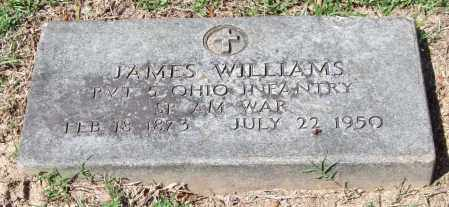 WILLIAMS (VETERAN SAW), JAMES - Garland County, Arkansas | JAMES WILLIAMS (VETERAN SAW) - Arkansas Gravestone Photos