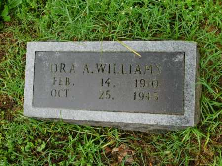 SCOTT WILLIAMS, ORA A. - Garland County, Arkansas | ORA A. SCOTT WILLIAMS - Arkansas Gravestone Photos