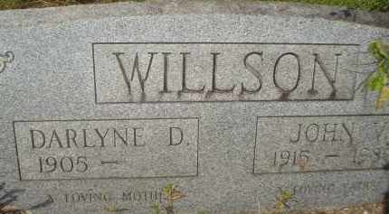 WILLSON, DARLYNE D. - Garland County, Arkansas | DARLYNE D. WILLSON - Arkansas Gravestone Photos