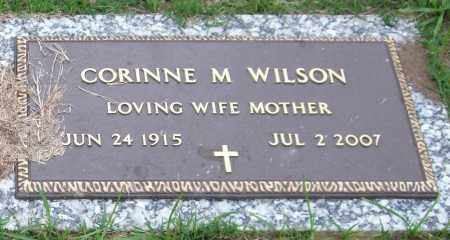 WILSON, CORINNE M. - Garland County, Arkansas | CORINNE M. WILSON - Arkansas Gravestone Photos
