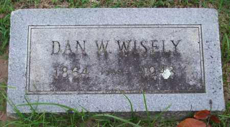 WISELY, DAN W. - Garland County, Arkansas | DAN W. WISELY - Arkansas Gravestone Photos