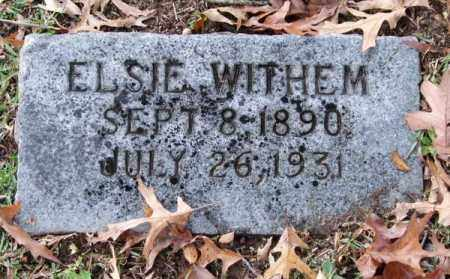 WITHEM, ELSIE - Garland County, Arkansas | ELSIE WITHEM - Arkansas Gravestone Photos