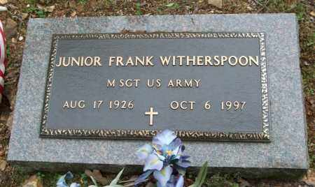 WITHERSPOON (VETERAN), JUNIOR FRANK - Garland County, Arkansas | JUNIOR FRANK WITHERSPOON (VETERAN) - Arkansas Gravestone Photos