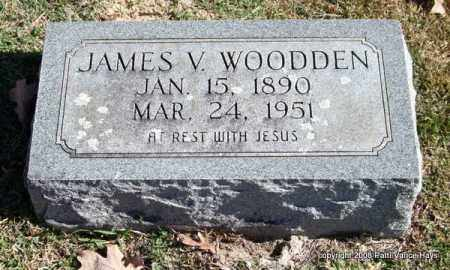 WOODDEN, JAMES V. - Garland County, Arkansas | JAMES V. WOODDEN - Arkansas Gravestone Photos