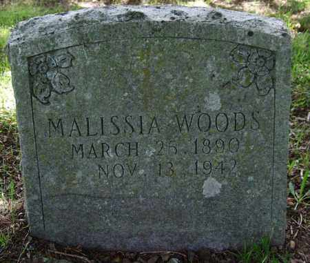 WOODS, MALISSIA - Garland County, Arkansas | MALISSIA WOODS - Arkansas Gravestone Photos