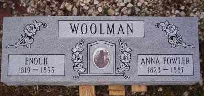 WOOLMAN, ENOCH - Garland County, Arkansas | ENOCH WOOLMAN - Arkansas Gravestone Photos