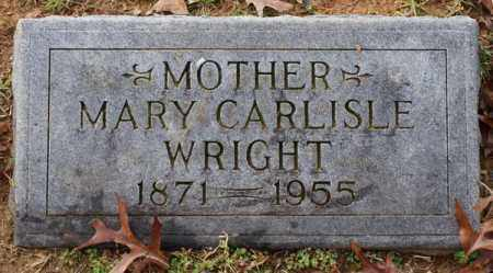 WRIGHT, MARY - Garland County, Arkansas | MARY WRIGHT - Arkansas Gravestone Photos