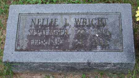 WRIGHT, NELLIE L. - Garland County, Arkansas | NELLIE L. WRIGHT - Arkansas Gravestone Photos