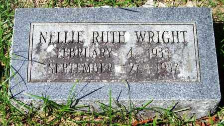 WRIGHT, NELLIE RUTH - Garland County, Arkansas | NELLIE RUTH WRIGHT - Arkansas Gravestone Photos