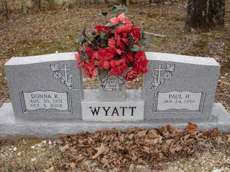 WYATT, DONNA K. - Garland County, Arkansas | DONNA K. WYATT - Arkansas Gravestone Photos