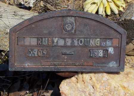 YOUNG, RUBY - Garland County, Arkansas | RUBY YOUNG - Arkansas Gravestone Photos