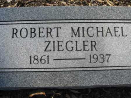 ZIEGLER, ROBERT MICHAEL - Garland County, Arkansas | ROBERT MICHAEL ZIEGLER - Arkansas Gravestone Photos