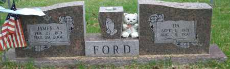 FORD, IDA - Garland County, Arkansas | IDA FORD - Arkansas Gravestone Photos