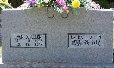 KELLY ALLEN, LAURA - Grant County, Arkansas | LAURA KELLY ALLEN - Arkansas Gravestone Photos