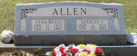 "ALLEN, OTHA ""BUCK"" - Grant County, Arkansas 