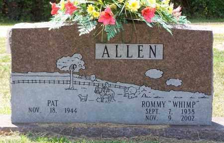 "ALLEN, ROMMIE ""WHIMP"" - Grant County, Arkansas | ROMMIE ""WHIMP"" ALLEN - Arkansas Gravestone Photos"