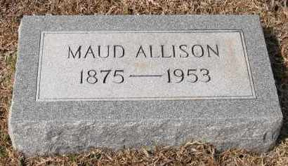 ALLISON, MAUD - Grant County, Arkansas | MAUD ALLISON - Arkansas Gravestone Photos