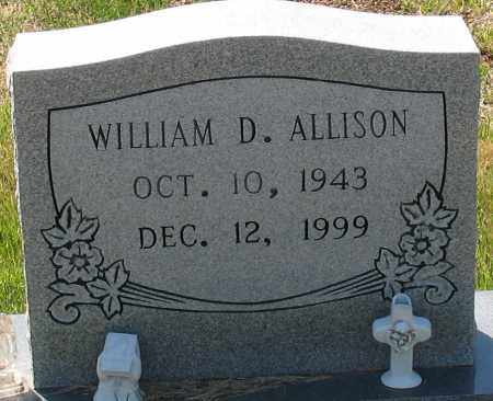 ALLISON, WILLIAM D - Grant County, Arkansas | WILLIAM D ALLISON - Arkansas Gravestone Photos