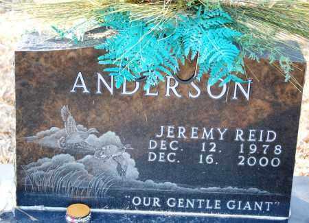 ANDERSON, JEREMY REID - Grant County, Arkansas | JEREMY REID ANDERSON - Arkansas Gravestone Photos