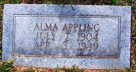 APPLING, ALMA - Grant County, Arkansas | ALMA APPLING - Arkansas Gravestone Photos