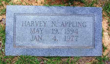 APPLING, HARVEY N - Grant County, Arkansas | HARVEY N APPLING - Arkansas Gravestone Photos