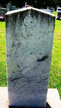 APPLING (VETERAN CSA), ENOCH F - Grant County, Arkansas | ENOCH F APPLING (VETERAN CSA) - Arkansas Gravestone Photos