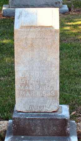 ATCHLEY, HANDY H - Grant County, Arkansas | HANDY H ATCHLEY - Arkansas Gravestone Photos