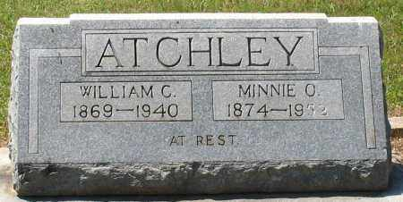 ATCHEY, MINNIE O - Grant County, Arkansas | MINNIE O ATCHEY - Arkansas Gravestone Photos