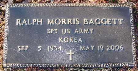 BAGGETT (VETERAN KOR), RALPH MORRIS - Grant County, Arkansas | RALPH MORRIS BAGGETT (VETERAN KOR) - Arkansas Gravestone Photos