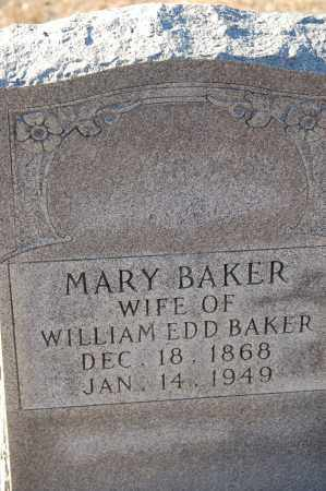 BAKER, MARY - Grant County, Arkansas | MARY BAKER - Arkansas Gravestone Photos