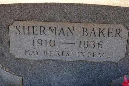 BAKER, SHERMAN - Grant County, Arkansas | SHERMAN BAKER - Arkansas Gravestone Photos