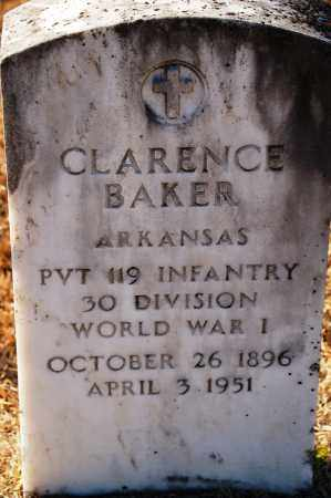 BAKER (VETERAN WWI), CLARENCE - Grant County, Arkansas | CLARENCE BAKER (VETERAN WWI) - Arkansas Gravestone Photos