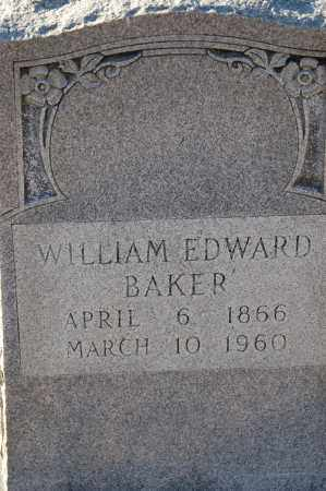 BAKER, WILLIAM EDWARD - Grant County, Arkansas | WILLIAM EDWARD BAKER - Arkansas Gravestone Photos