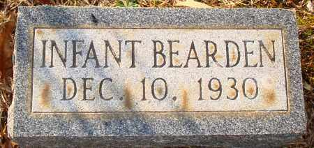 BEARDEN, INFANT - Grant County, Arkansas | INFANT BEARDEN - Arkansas Gravestone Photos