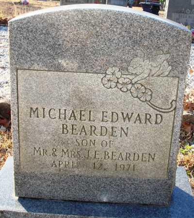 BEARDEN, MICHAEL EDWARD - Grant County, Arkansas | MICHAEL EDWARD BEARDEN - Arkansas Gravestone Photos