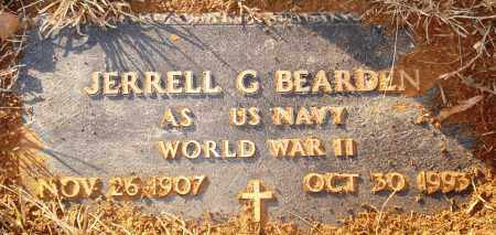 BEARDEN (VETERAN WWII), JERRELL G - Grant County, Arkansas | JERRELL G BEARDEN (VETERAN WWII) - Arkansas Gravestone Photos