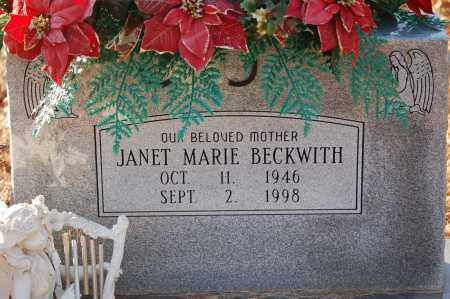 BECKWITH, JANET MARIE - Grant County, Arkansas | JANET MARIE BECKWITH - Arkansas Gravestone Photos