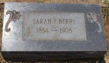 BERRY, SARAH - Grant County, Arkansas | SARAH BERRY - Arkansas Gravestone Photos