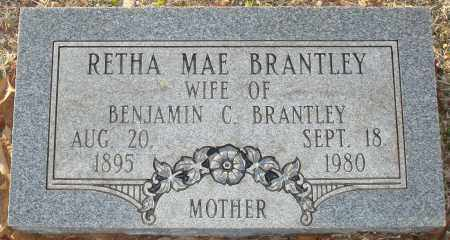 BRANTLEY, RETHA MAE - Grant County, Arkansas | RETHA MAE BRANTLEY - Arkansas Gravestone Photos