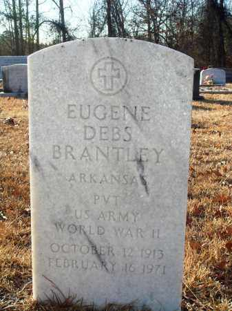 BRANTLEY (VETERAN WWII), EUGENE DEBS - Grant County, Arkansas | EUGENE DEBS BRANTLEY (VETERAN WWII) - Arkansas Gravestone Photos