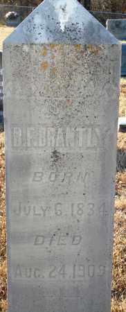BRANTLY, B. F. - Grant County, Arkansas | B. F. BRANTLY - Arkansas Gravestone Photos
