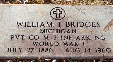 BRIDGES (VETERAN WWI), WILLIAM I - Grant County, Arkansas | WILLIAM I BRIDGES (VETERAN WWI) - Arkansas Gravestone Photos