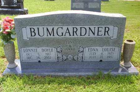 BUMGARDNER, EDNA LOUISE - Grant County, Arkansas | EDNA LOUISE BUMGARDNER - Arkansas Gravestone Photos