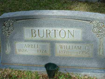 BURTON, ARBEL - Grant County, Arkansas | ARBEL BURTON - Arkansas Gravestone Photos