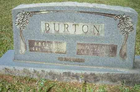CRANFORD BURTON, DOSHA BELLE - Grant County, Arkansas | DOSHA BELLE CRANFORD BURTON - Arkansas Gravestone Photos