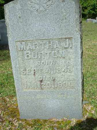 HICKS BURTON, MARTHA JANE - Grant County, Arkansas | MARTHA JANE HICKS BURTON - Arkansas Gravestone Photos